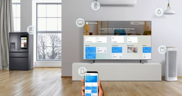 گلکسی S9 و اپلیکیشن SmartThings سامسونگ